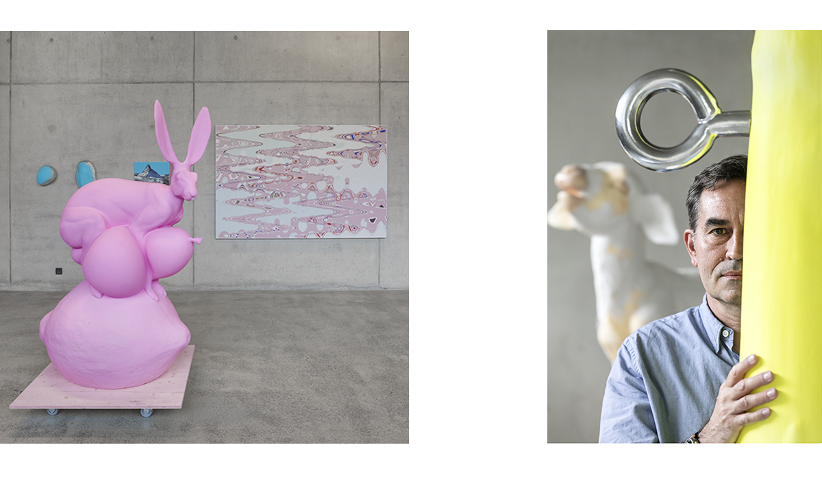 Künstler Pascal Seiler Ausstellung Kunst Kunstobjekte Galerie