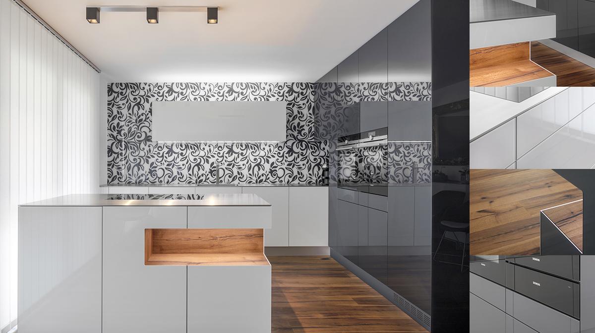 Innenausbau Küche Fotografie Schreinerei Zeiter und Berchtold