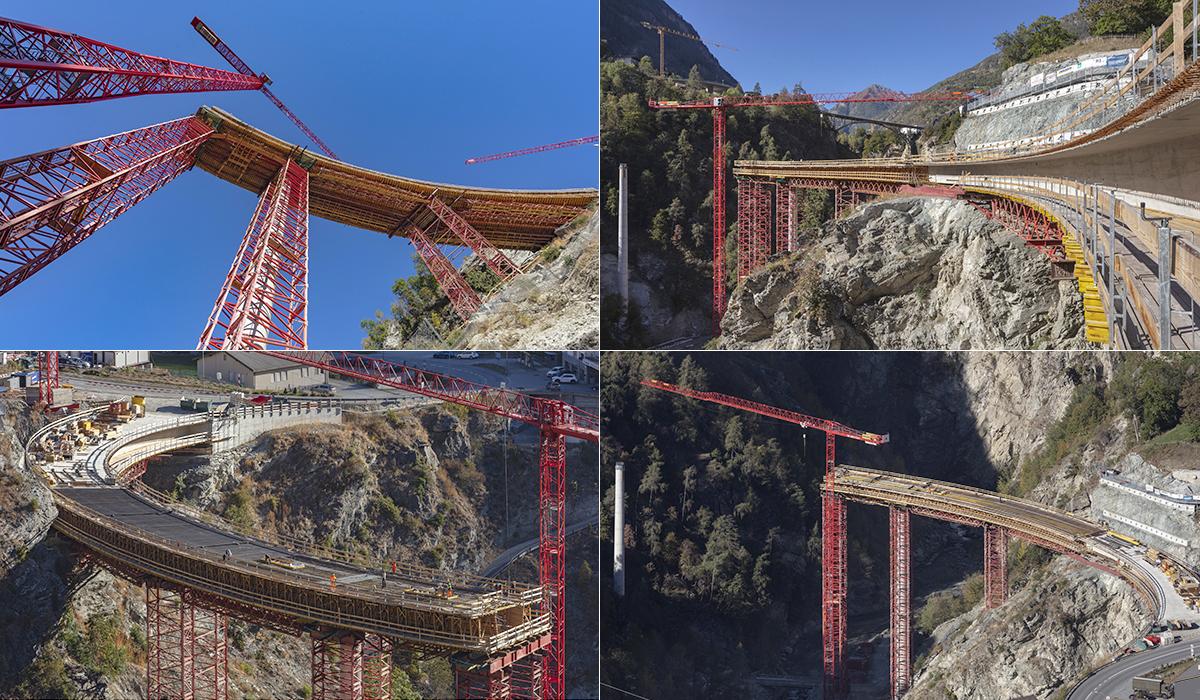 Baureportage Fotografie Baudokumentation Brückenbau Chinegga