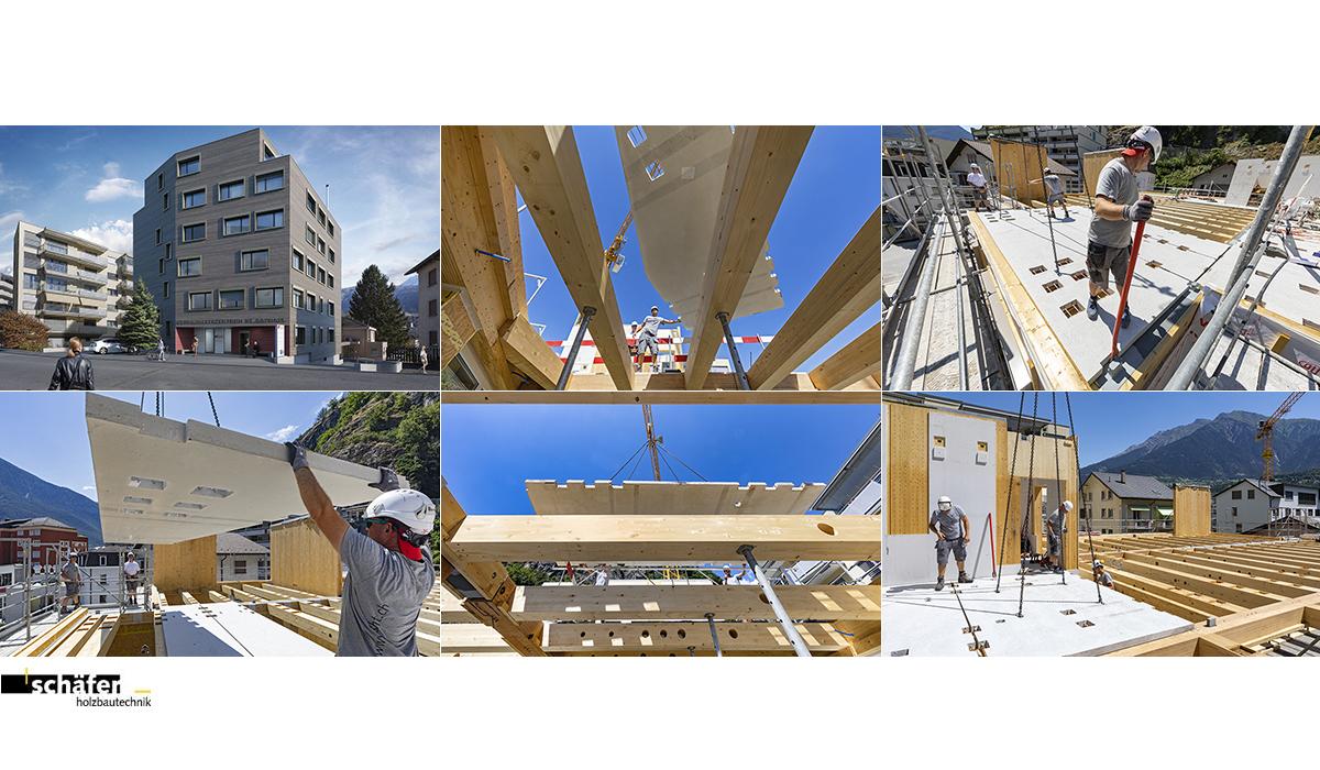 Baureportage Fotografie Baudokumentation Schäfer Holzbautechnik