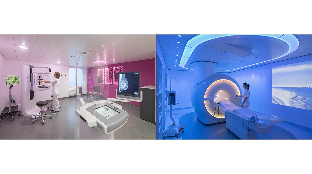 Medizin Spitalzentrum Oberwallis Mammographie MRI Spital Fotografie