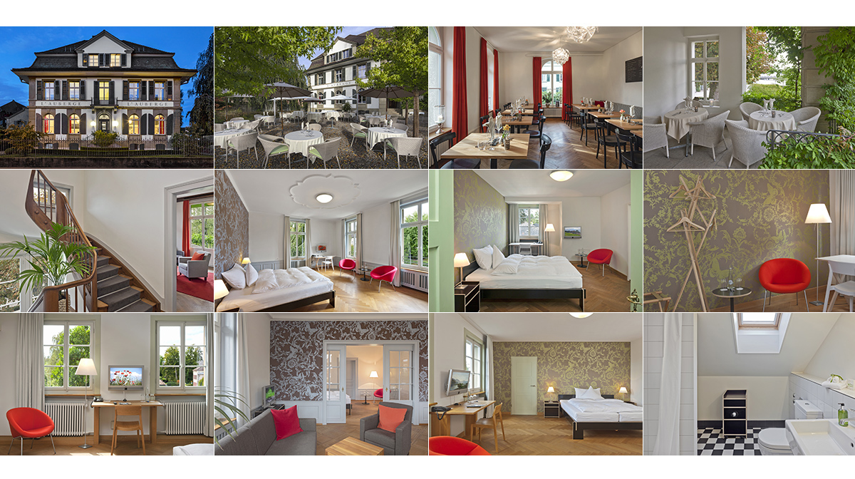 Gastronomie Hotel l`auberge Tourismus Architektur Fotografie