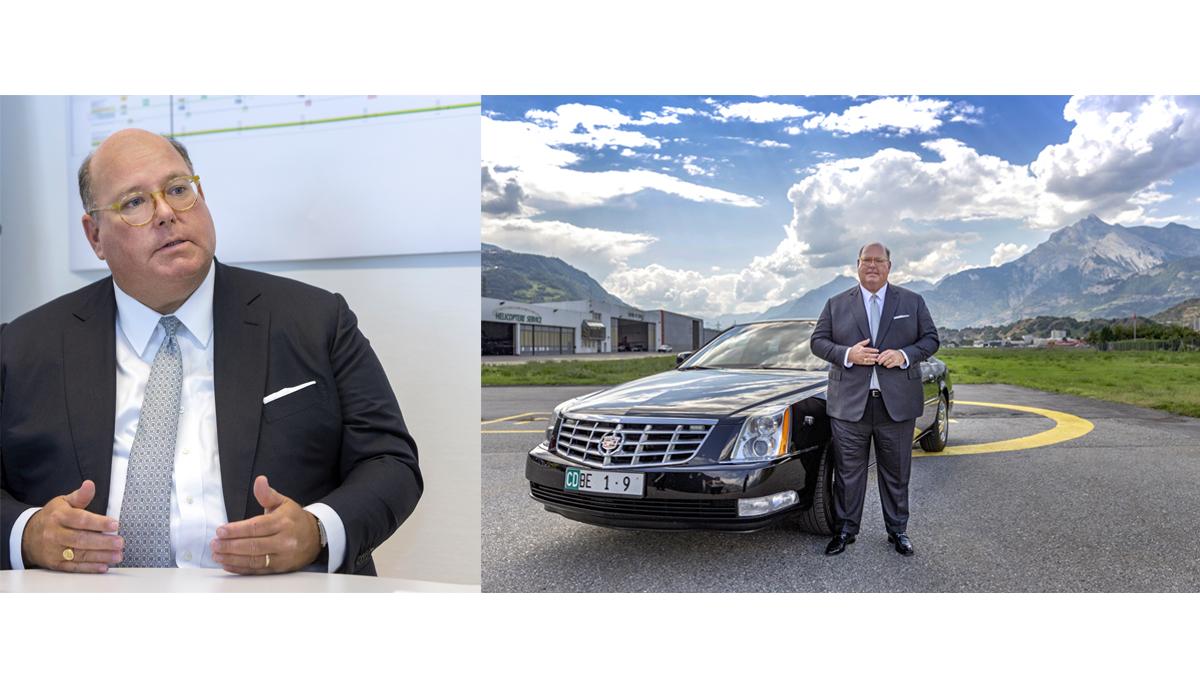 Botschafter Ed McMullen Politik Schweiz Wallis Sion Presse