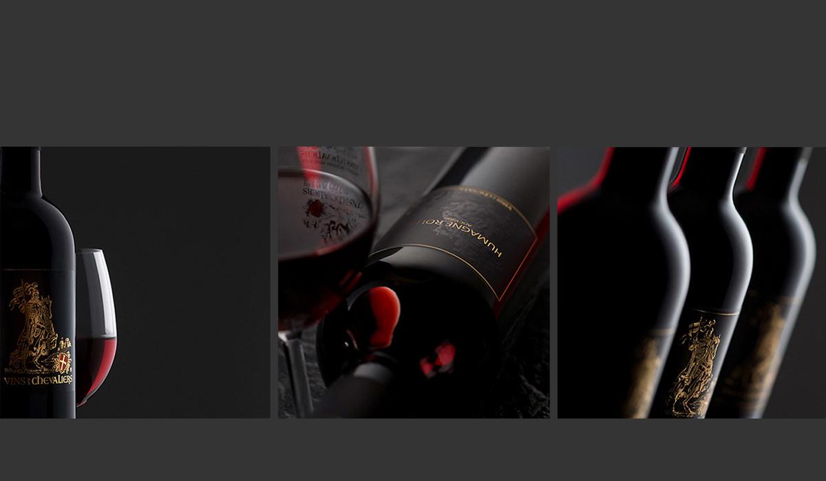Flasche Wein Still life Vin des Chevalières Fotografie Weinflaschen Humagne rouge