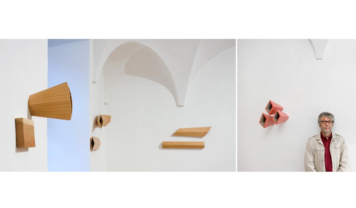 Künstler Pierre Alain Zuber Ausstellung Kunst Kunstobjekte Galerie Kultur