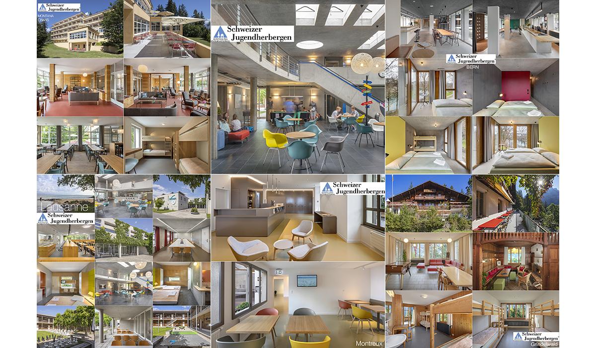 Schweizer Jugendherbergen Architektur Tourismus Gastronomie