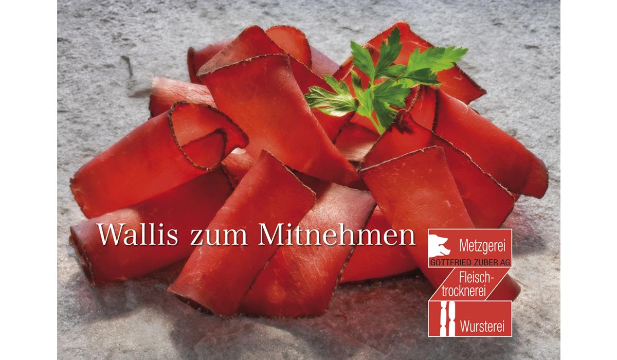 Still life Trockenfleisch Metzgerei Zuber Wallis Spezialität Food Fotografie