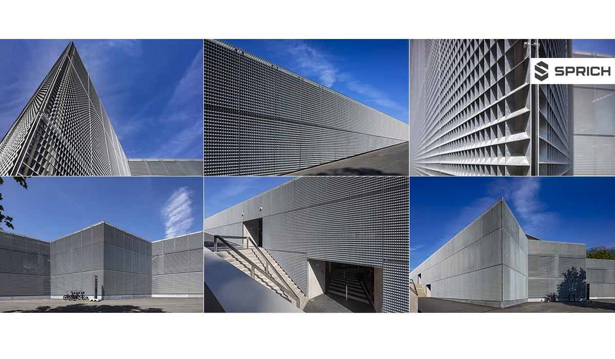 Metallbau Architektur Sprich Gebäude Fotografie Parkhaus