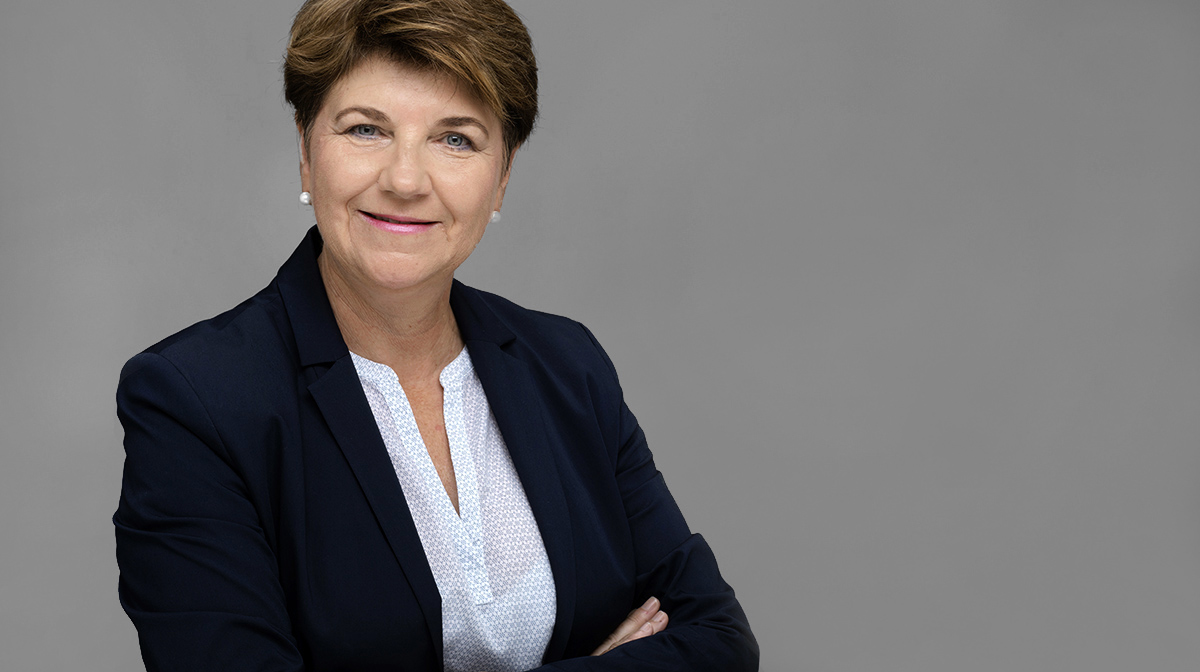 Portrait Viola Amherd Profilbild