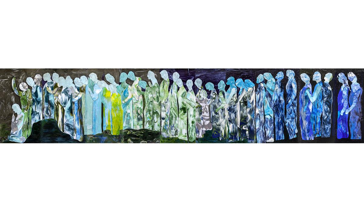 Künstler Theo Imboden Glaskunst Ausstellung Kunst Kunstobjekte Galerie Kultur