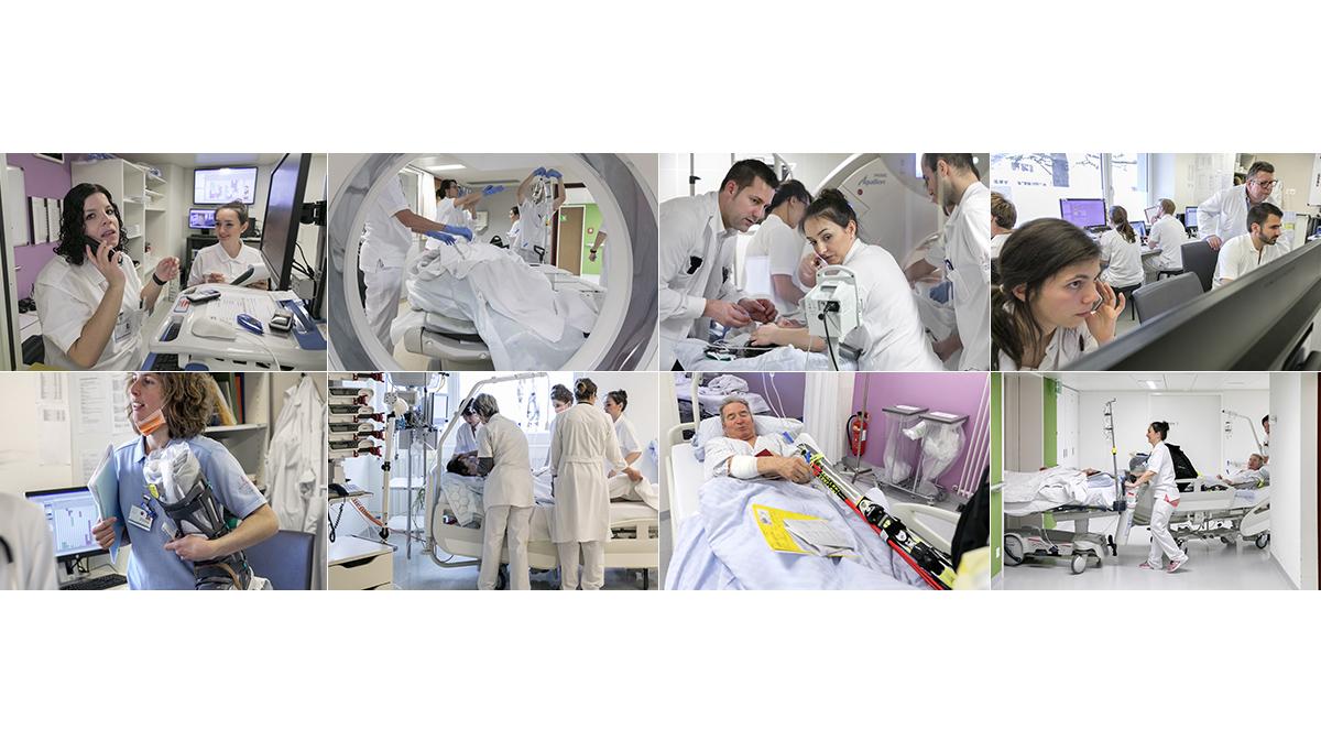 Presse Reportage Spital Wallis Spitalzentrum Unfall