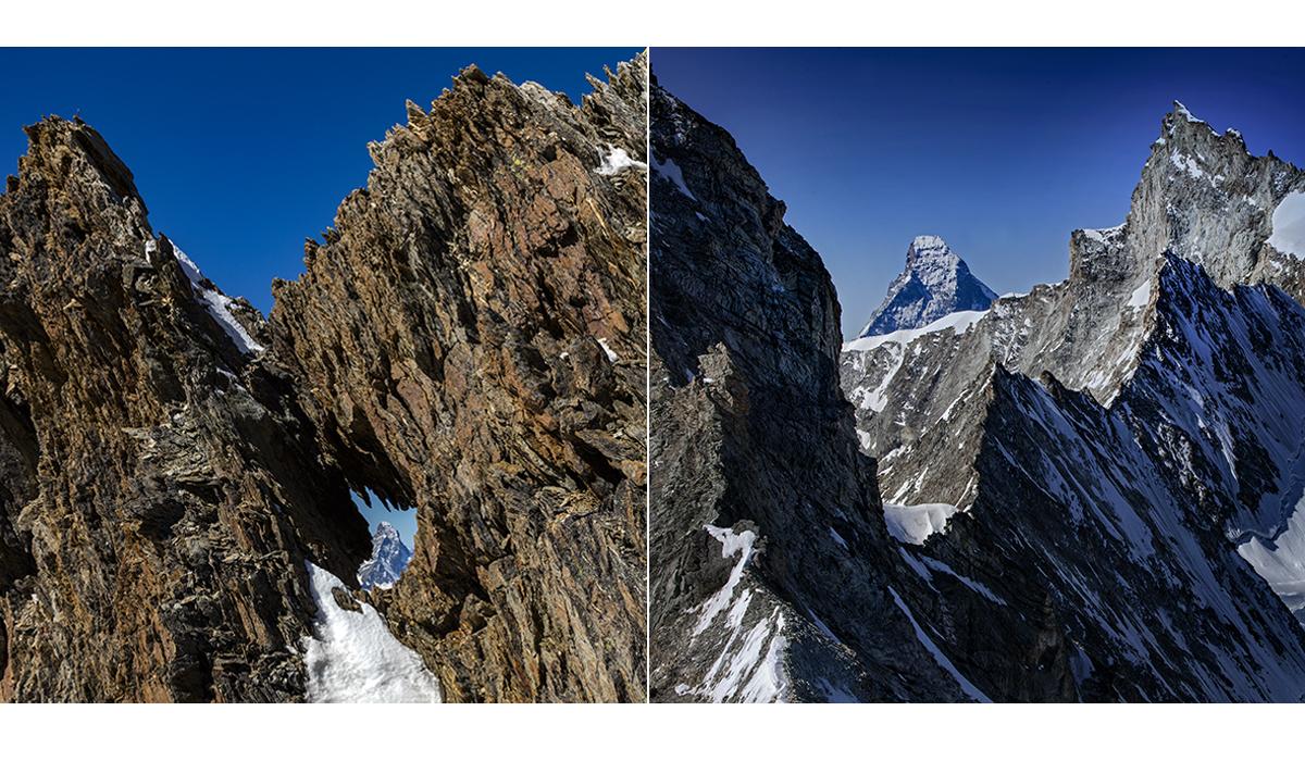 Werbefotografie Tourismus Werbung Natur Landschaft Zermatt Matterhorn Nadelhorn