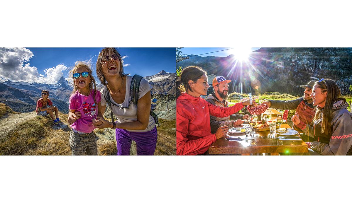 Werbefotografie Tourismus Werbung Natur Landschaft Zermatt Matterhorn