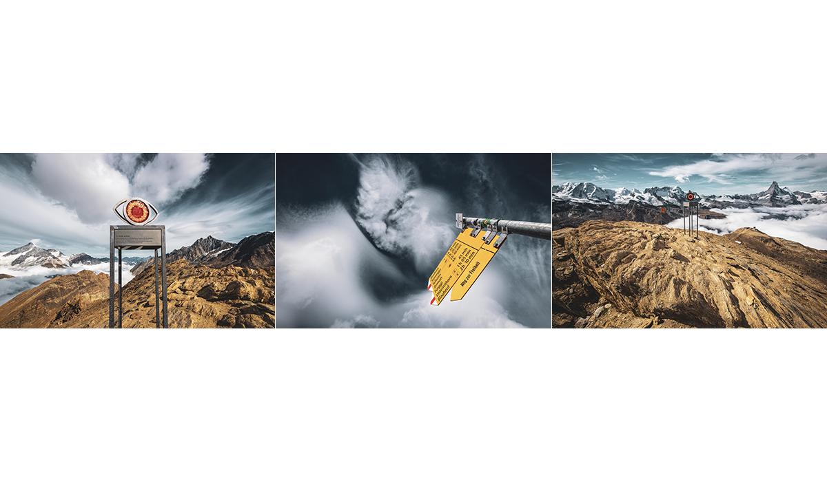 Werbefotografie Tourismus Werbung Natur Zermatt Oberrothorn Zermatter Bergbahnen